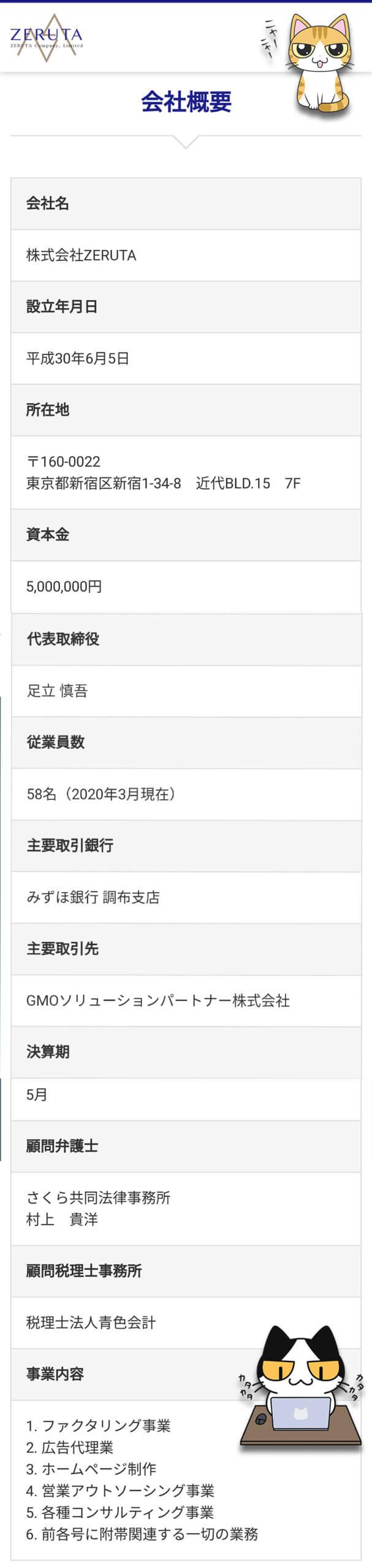 七福神株式会社ZERUTA